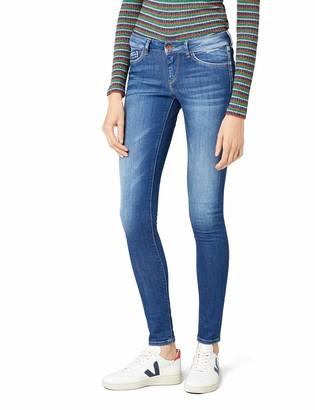 Pepe Jeans Women's Pixie Skinny Jeans Blue (Denim) (Denim D45) W33/L44