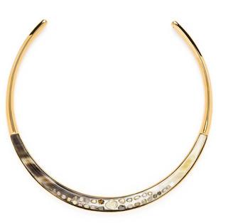 Ashley Pittman Harper Horn Collar w/ Cognac Diamonds