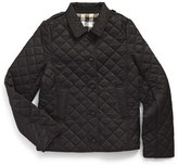 Burberry Girl's 'Mini Ashurst' Quilted Jacket