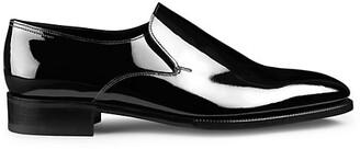 John Lobb Elm Patent Leather Loafers