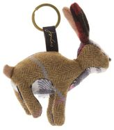 Joules New Womens Brown Hare Acrylic Keyrings