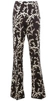 Giambattista Valli floral flared trousers - women - Cotton/Polyamide/Acetate/Viscose - 42