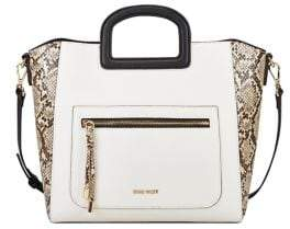 Nine West Small Mirasol Faux Leather Tote