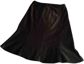 Claudie Pierlot Fall Winter 2019 Black Cotton Skirt for Women