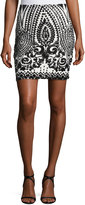 Goldie London Rock the Boat Sequined Pencil Skirt, Multi