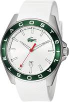 Lacoste Men's 'Westport' Quartz Stainless Steel and Silicone Casual Watch, Color: (Model: 2010903)