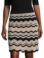 M Missoni Wavy Knit Skirt