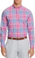 Vineyard Vines Coral Cliff Plaid Tucker Slim Fit Button-Down Shirt