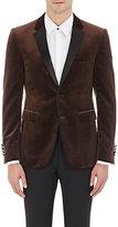 Burberry X Barneys New York Men's Cotton Velvet Tuxedo Jacket