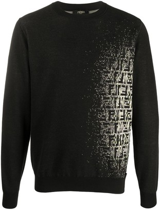 Fendi faded FF sweatshirt