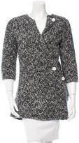 Celine Bouclé Button-Up Sweater w/ Tags