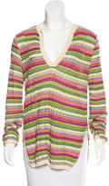 M Missoni Patterned Long Sleeve Top
