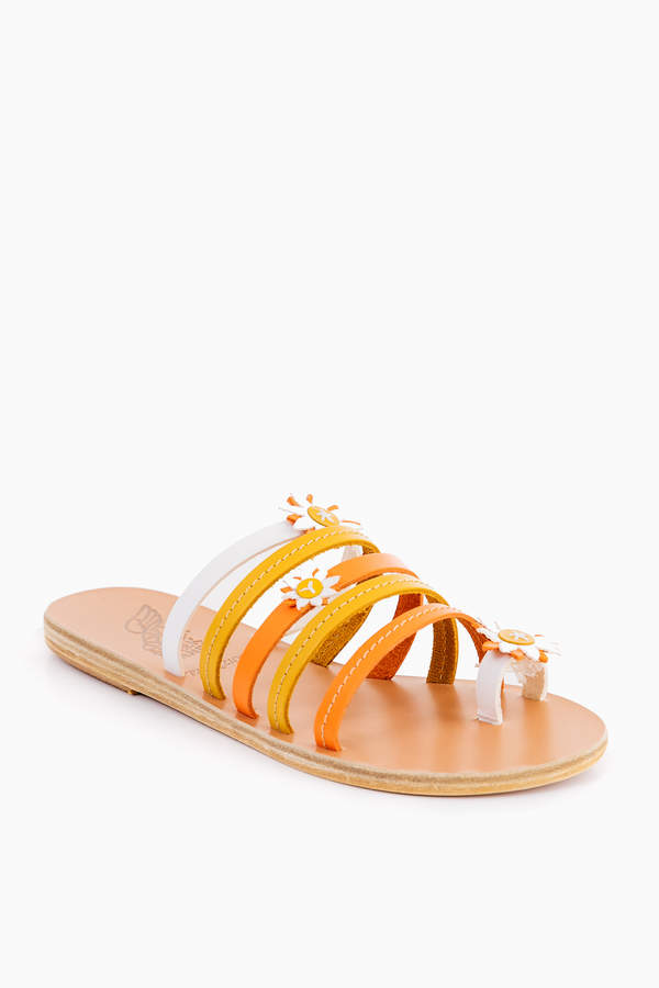 Ancient Greek Sandals Orange Victoria Sandals