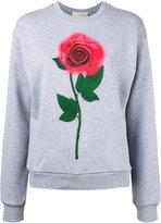 Christopher Kane 'Beauty and the Beast' sweatshirt - women - Cotton - M