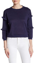 Cotton Emporium Tiered Ruffle Sleeve Sweater