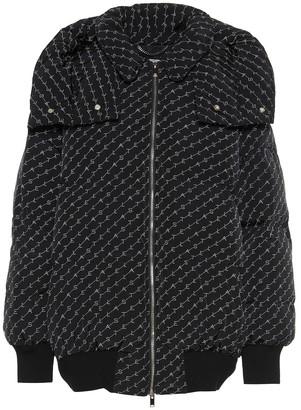 Stella McCartney Logo padded jacket