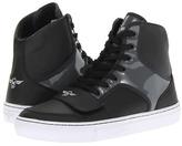 Creative Recreation Cesario X (Big Kid) (Charcoal Black Smoke) - Footwear