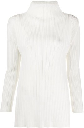 Pleats Please Issey Miyake Micro Pleated Top