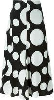 Paul Smith circle print skirt