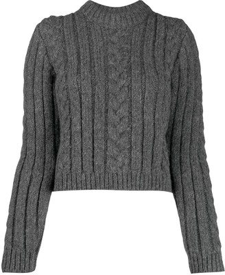 Ganni Cable Knit Jumper