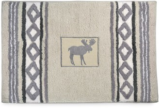 Signature Saranac Moose Bath Rug