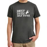 Eddany Best Buckin' Dad Ever T-Shirt