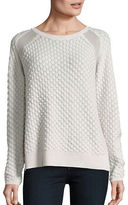 French Connection Ella Mesh Knit Sweater