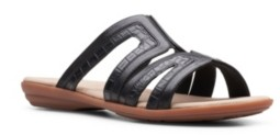 Clarks Collection Women's Ada Lilah Wedge Sandals Women's Shoes