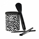 S.O.H.O New York Makeup Brush Vanity Set 4 Piece Black by