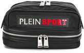 Plein Sport logo patch wash bag