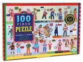 Eeboo Children of the World 100 Pc Puzzle