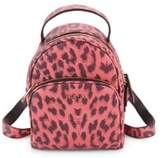 Furla Printed Mini Leather Backpack