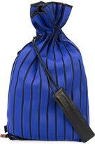 Issey Miyake ribbed backpack