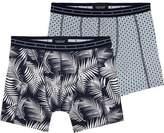 Scotch & Soda 2-Pack Motif Boxer Shorts