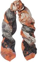 Lily & Lionel Skyler Printed Modal And Cashmere-Blend Scarf
