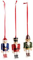 Villeroy & Boch Nostalgic Porcelain Nutcracker Ornaments (Set of 3)