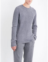 Helmut Lang Re-Edition cutout wool jumper