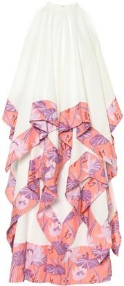 Loewe Paula's Ibiza linen and cotton maxi dress