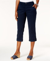 Style&Co. Style & Co Button-Cuff Capri Pants, Only at Macy's