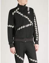 Damir Doma x Lotto logo-print jersey jacket