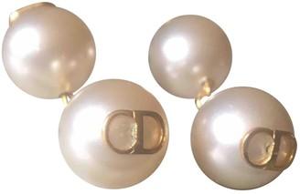 Christian Dior White Metal Pendants