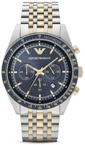 Emporio Armani Two-Tone Chronograph Watch, 46mm