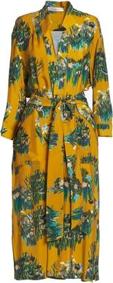 AILANTO Mustard Lilies Coat