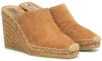 Jimmy Choo Dalisay suede espadrille mules