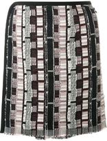 CHRISTOPHER ESBER Navajo mini skirt - women - Cotton/Acrylic/Polyester/Spandex/Elastane - 8
