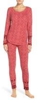 Lucky Brand Women's Print Fleece Pajamas