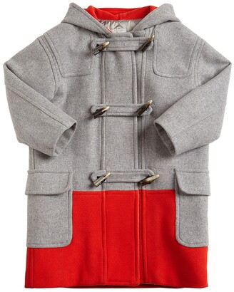 Stella McCartney Kids Montgomery Wool Blend Coat