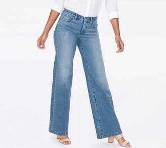 NYDJ Wide Leg Trouser Jeans- Brickell