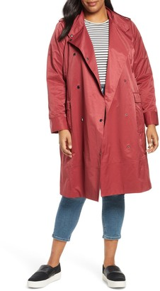 Halogen Patch Pocket Trench Coat