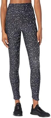 Manduka Presence 7/8 Pocket Legging (Mini Dot Black) Women's Casual Pants